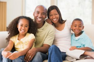 A perfect family, as the parents have Universal Life coverage to protect their children.